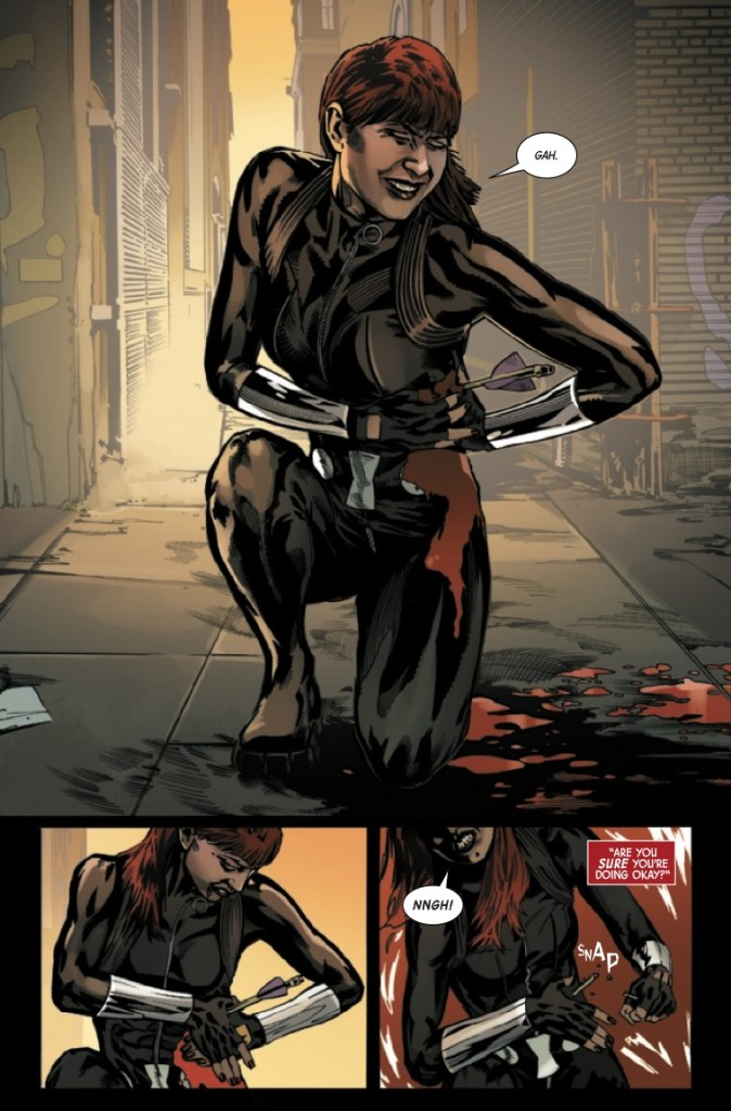 Marvel Preview: Web Of Black Widow #4