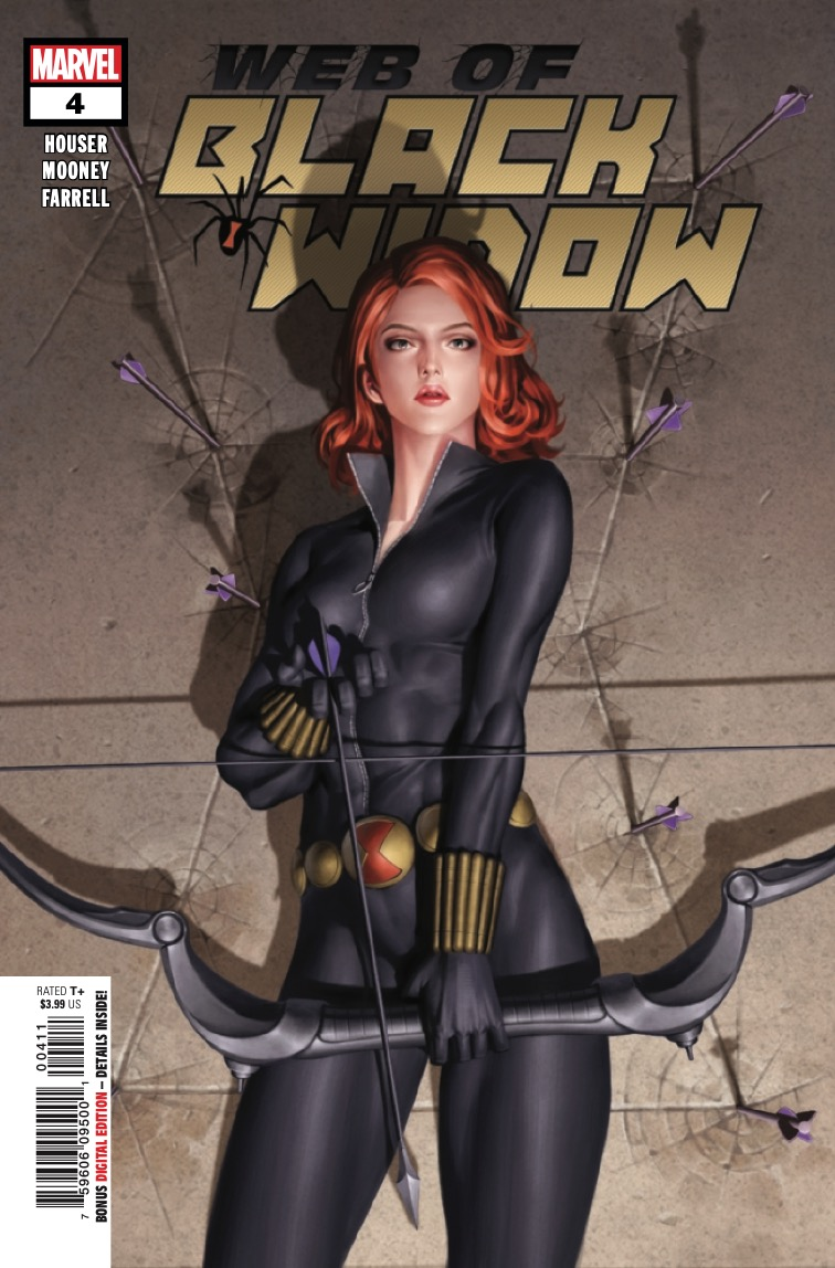 The Web of Black Widow TPB Review