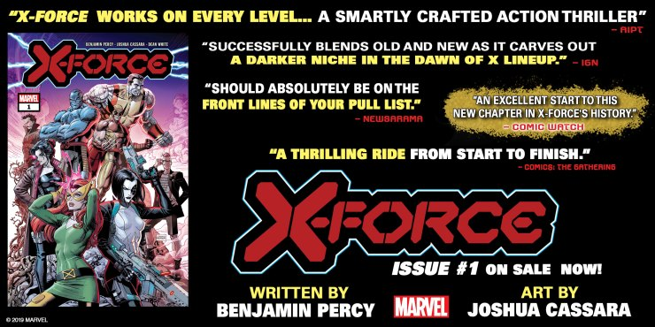 See what critics are saying about Marvel's X-Force #1