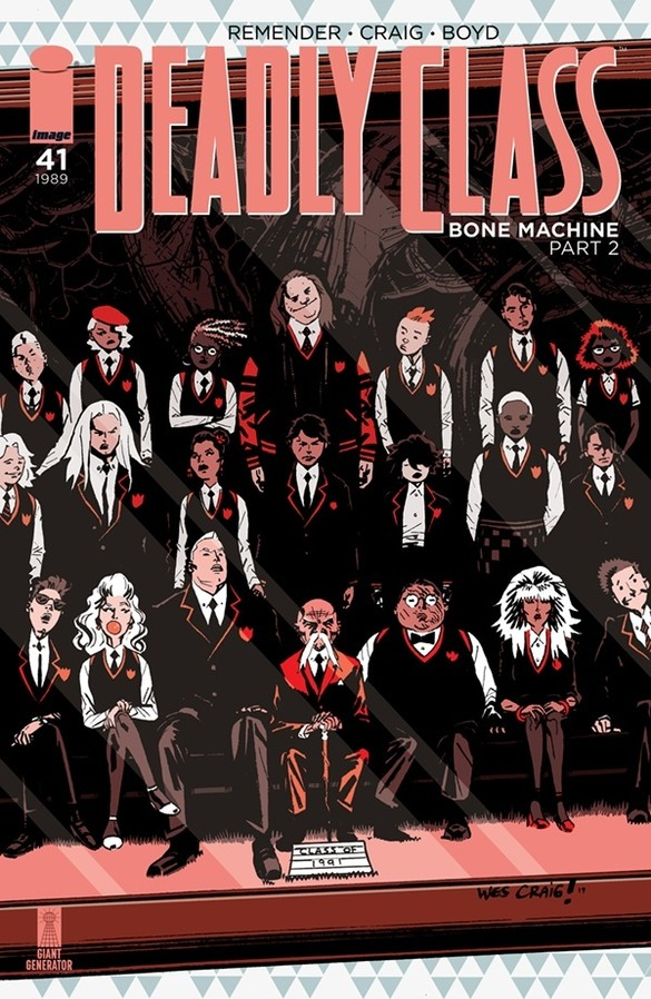 Deadly Class #41 review: carnival of snores