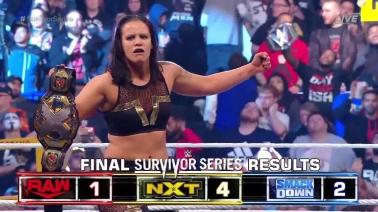 2019 WWE Survivor Series results