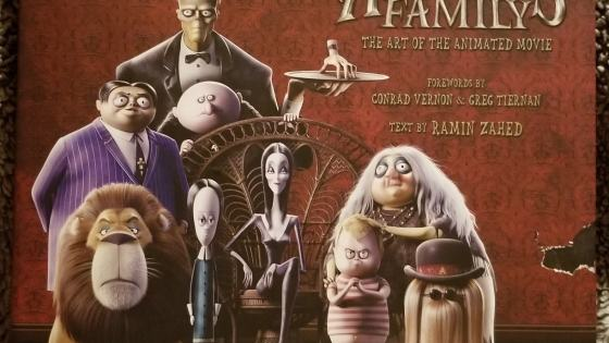 Explore the mysterious and spooky artwork behind the new animated movie 'The Addams Family' with this book by Ramin Zahed!