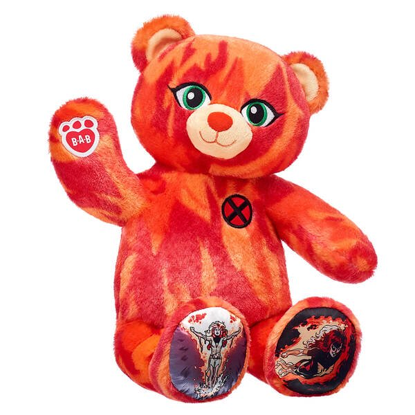 Build-A-Bear Workshop's Phoenix Force Bear Gift Set Review - Marvel's cosmic firebird has never been more adorable