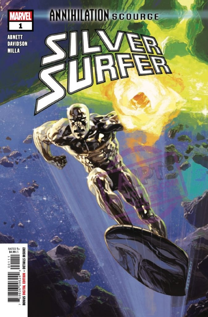 EXCLUSIVE Marvel Preview: Annihilation: Scourge - Silver Surfer #1