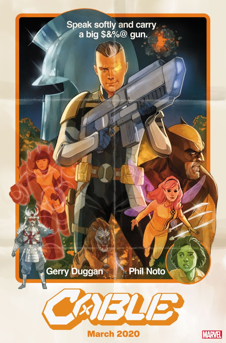 X-Men Monday #118 - Phil Noto Talks Art, 'Cable,' Bei the Blood Moon and More
