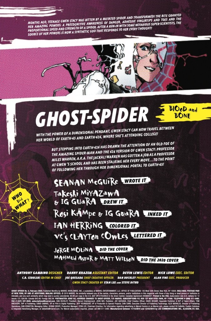 Marvel Preview: Ghost-Spider #5
