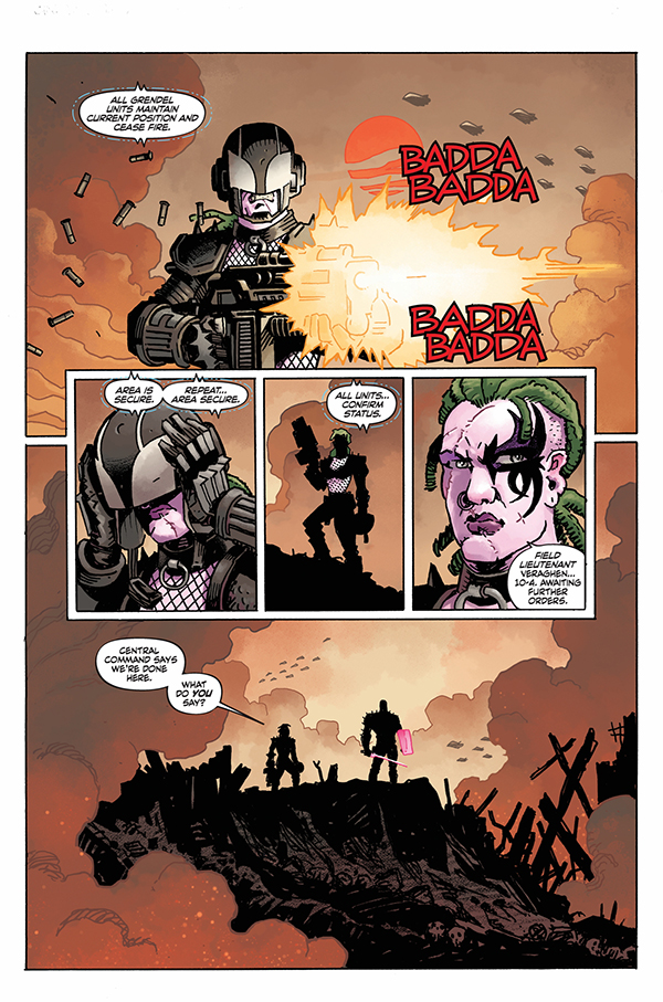 EXCLUSIVE Dark Horse Preview: Grendel: Devil's Odyssey #3