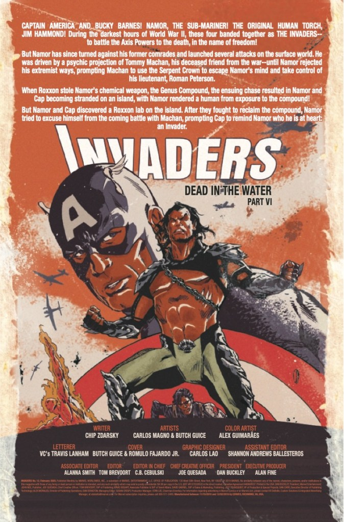 Marvel Preview: Invaders #12