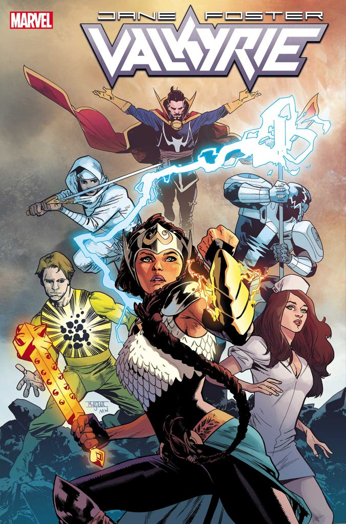 EXCLUSIVE Marvel First Look: Valkyrie: Jane Foster #7 Marvels X variant by Kris Anka