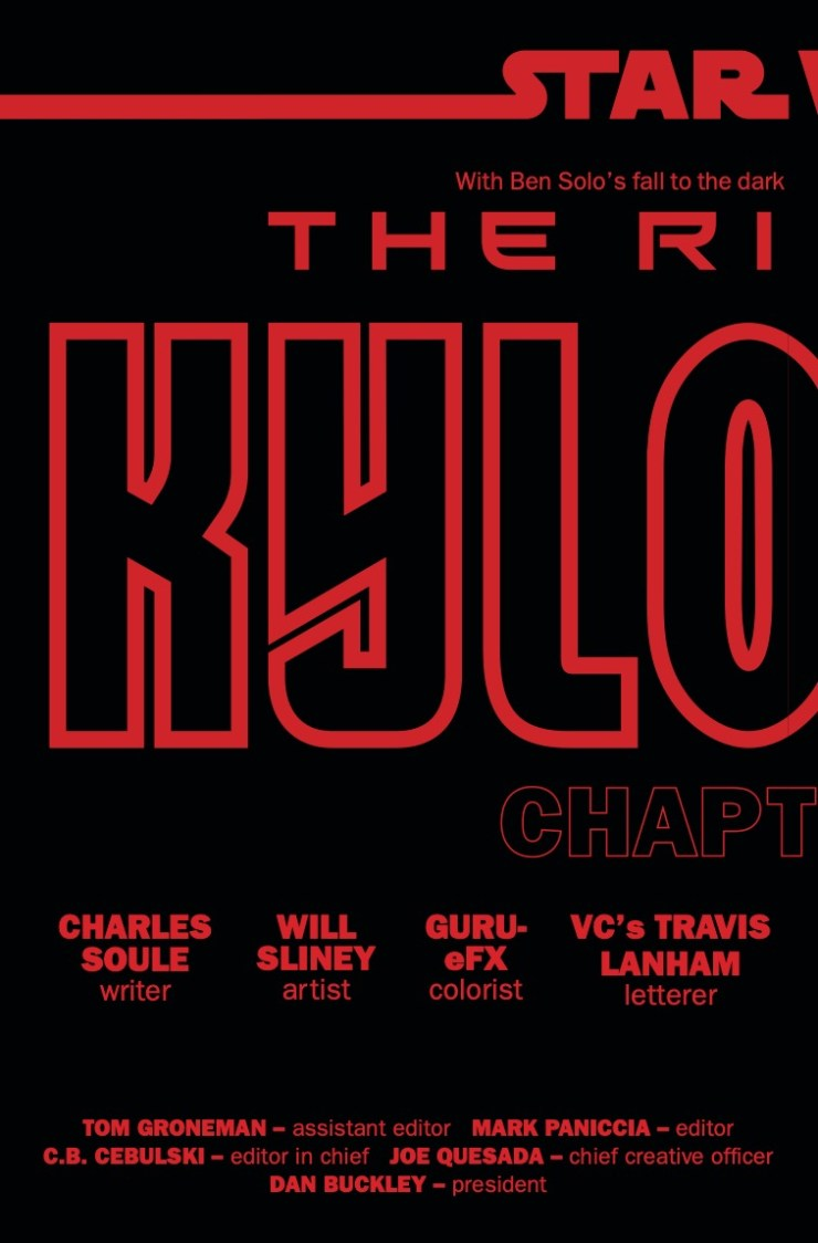 Marvel Preview: Star Wars: The Rise of Kylo Ren #1