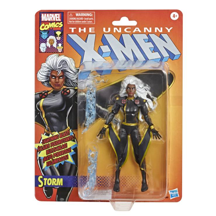 Hasbro reveals black costume Storm and Stepford Cuckoos for Marvel Legends