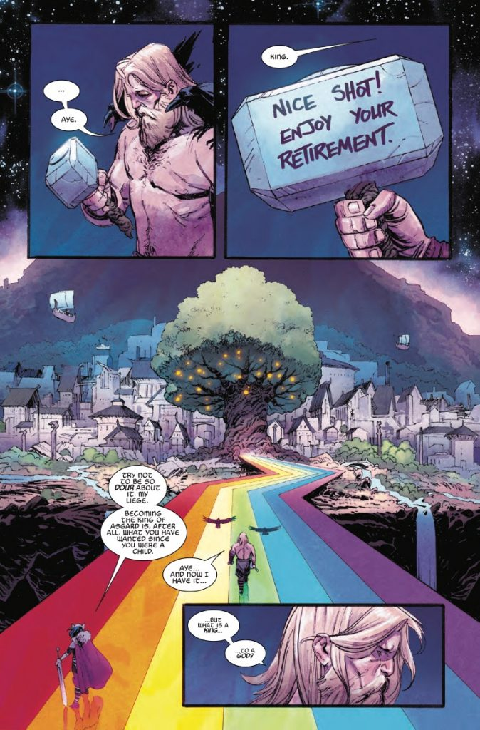 Thor #1 review: The beginning of an intense and remarkable adventure