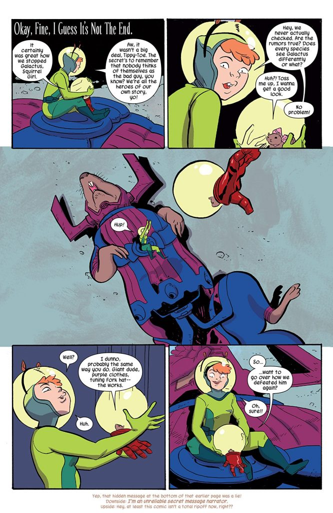 The Unbeatable Squirrel Girl: Powers of a Squirrel Review