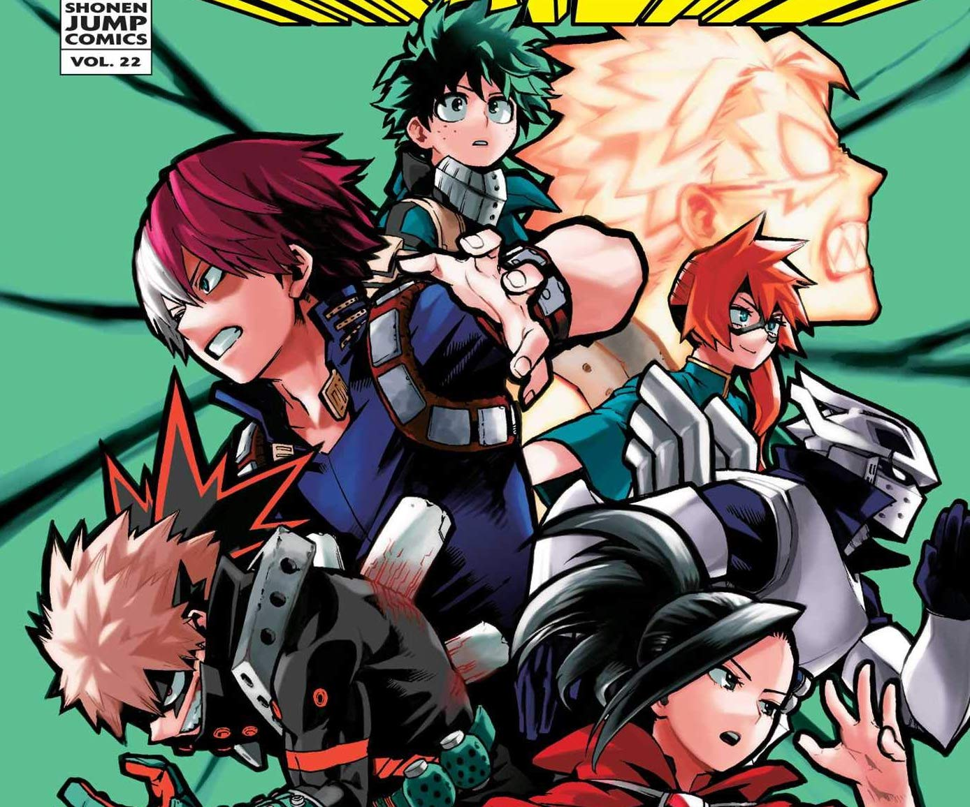 My Hero Academia Vol. 22 Review
