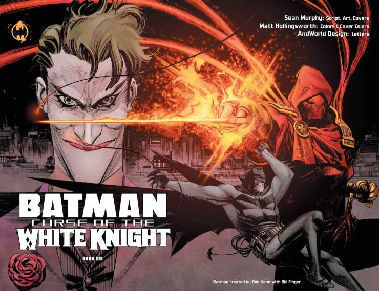 DC Preview: Batman: Curse of the White Knight #6