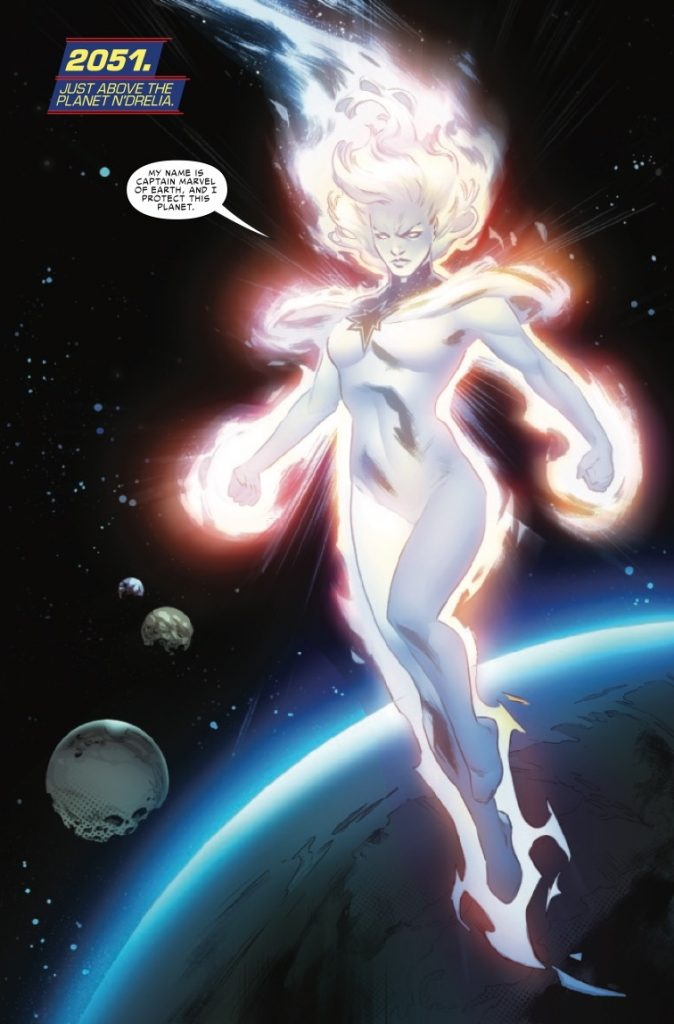Marvel Preview: Captain Marvel: The End #1