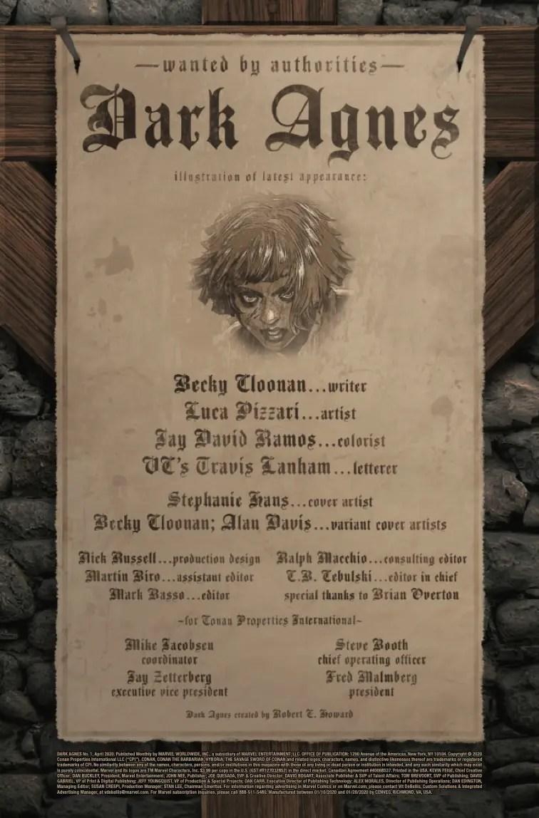 Dark Agnes #1 Review