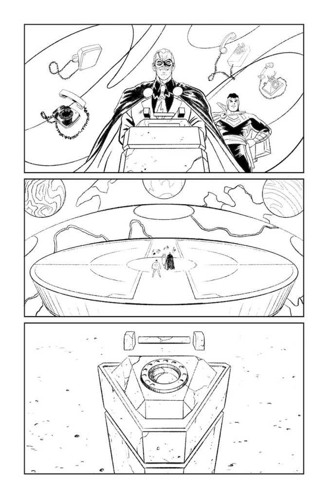 DC First Look: Dial H for Hero #12 uncolored