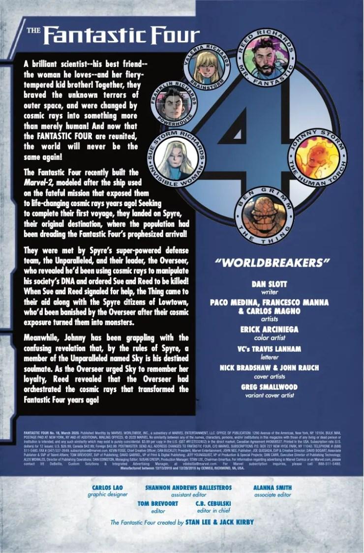 Marvel Preview: Fantastic Four #18