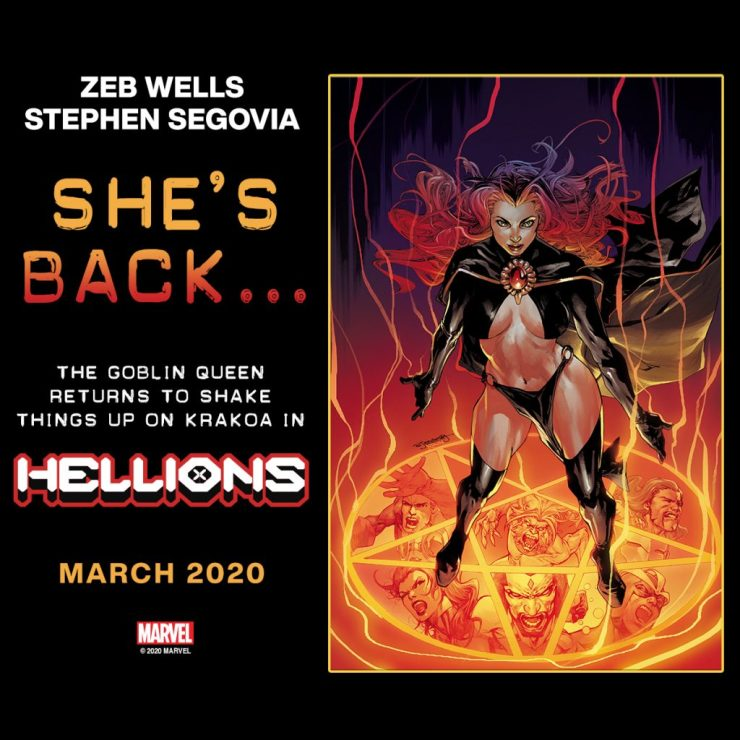 X-Men First Look: Marvel teases Madelyne Pryor to appear in Hellions who was last referenced in the 'Sinister Secrets'