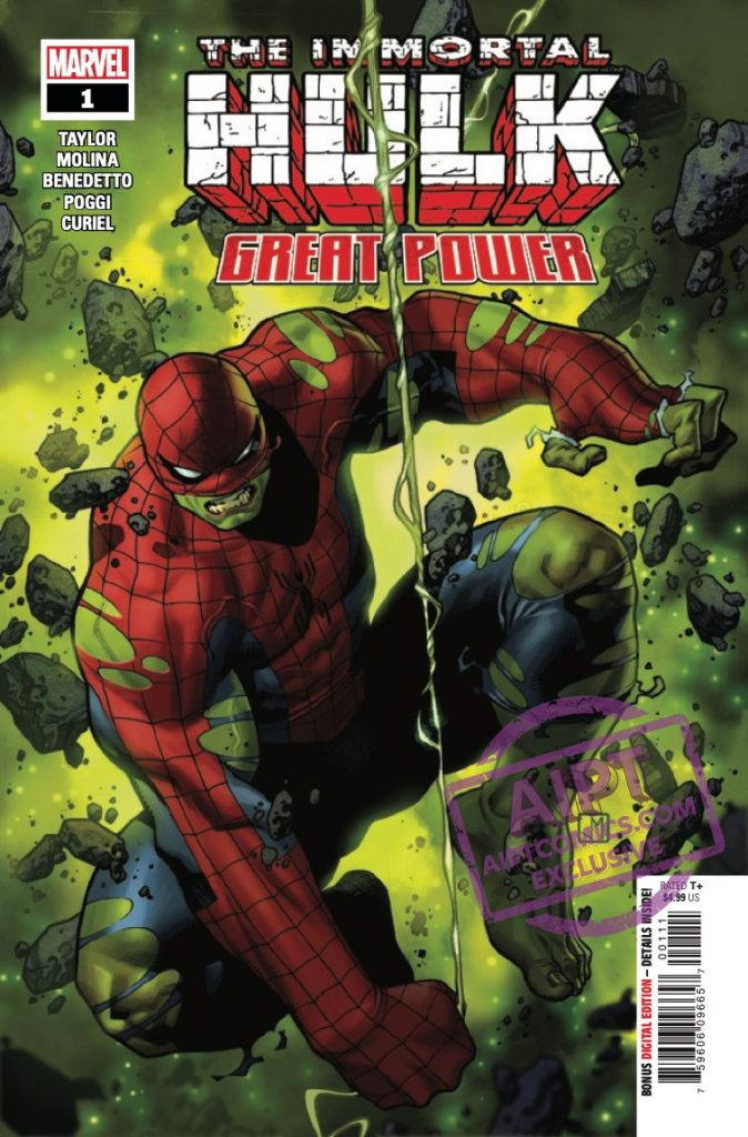 EXCLUSIVE Marvel Preview: The Immortal Hulk: Great Power #1