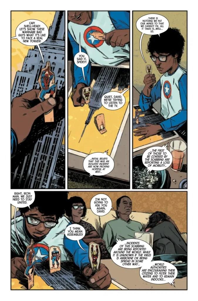 Marvel Preview: Marvels X #1