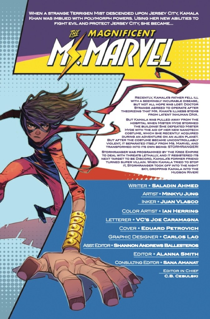 Marvel Preview: Magnificent Ms. Marvel (2019-) #12
