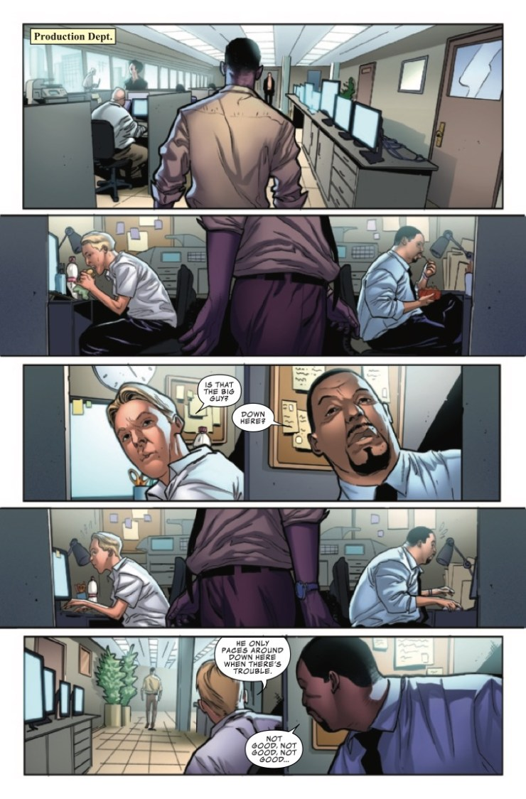 Marvel Preview: The Amazing Spider-Man: Daily Bugle #1