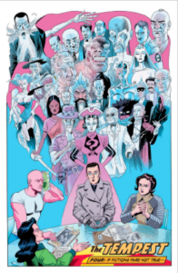 The League of Extraordinary Gentleman: The Tempest #4 review