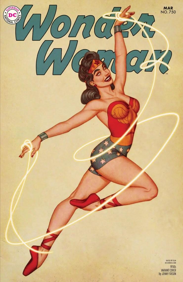 DC Preview: Wonder Woman #750