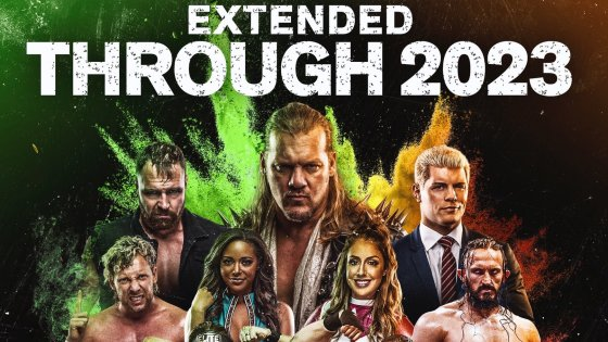 AEW announces second weekly show; Dynamite extended through 2023