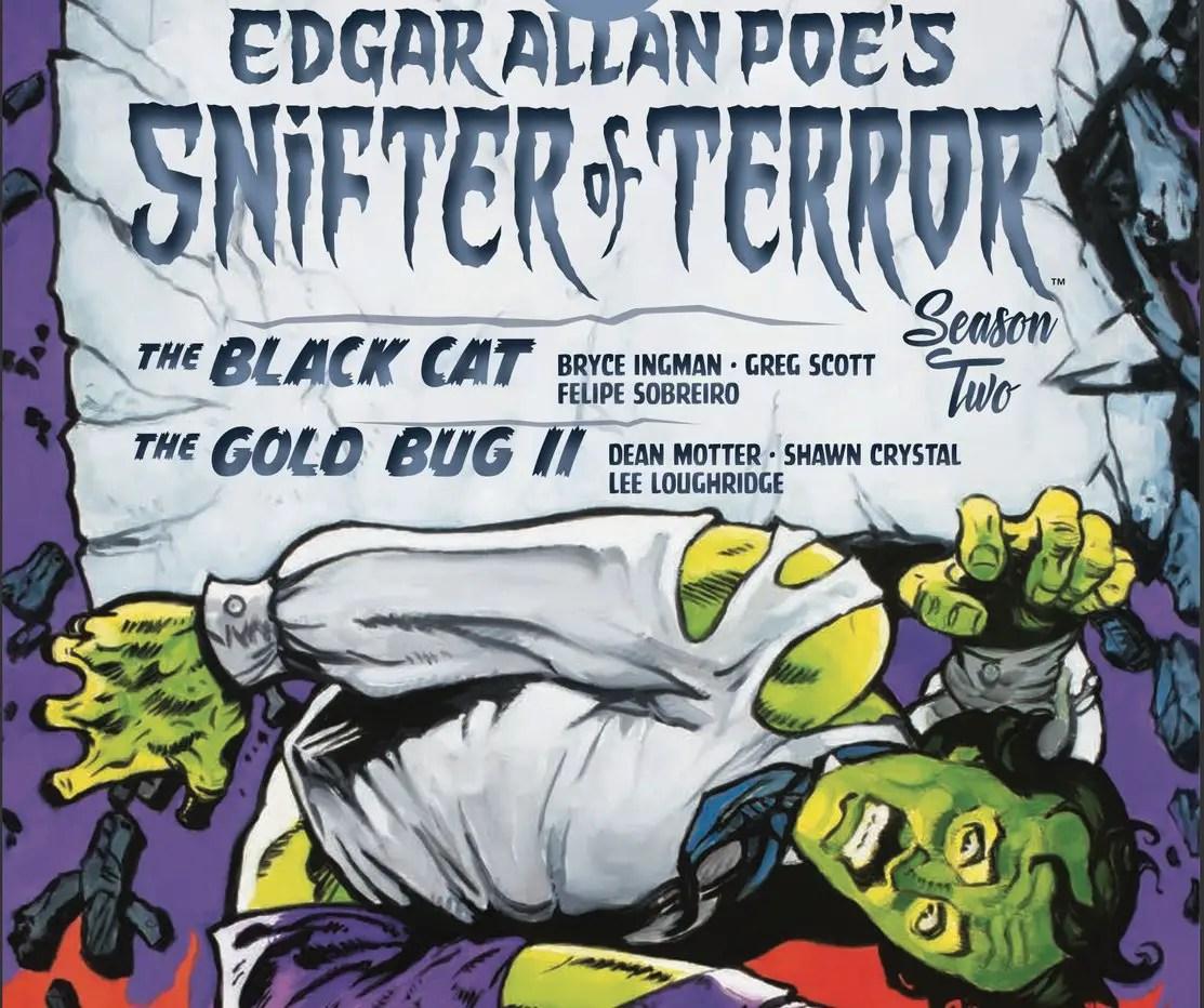 Edgar Allan Poe's Snifter of Terror Season Two #4 Review
