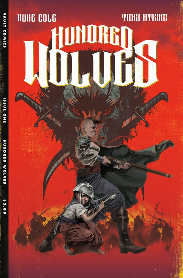 Vault Comics announces 'Hundred Wolves' from Myke Cole & Tony Akins coming April 2020