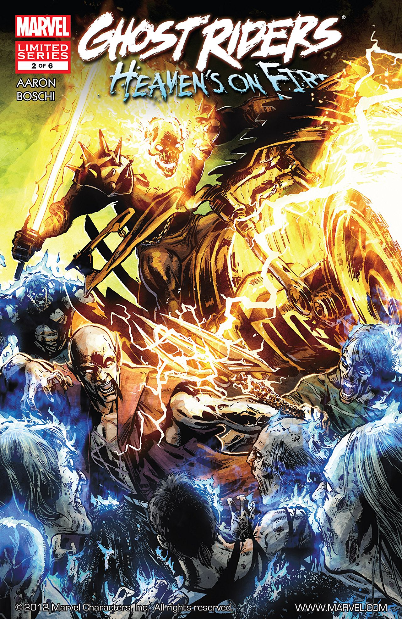 Ghost Rider: The War for Heaven Book 2 TPB Review