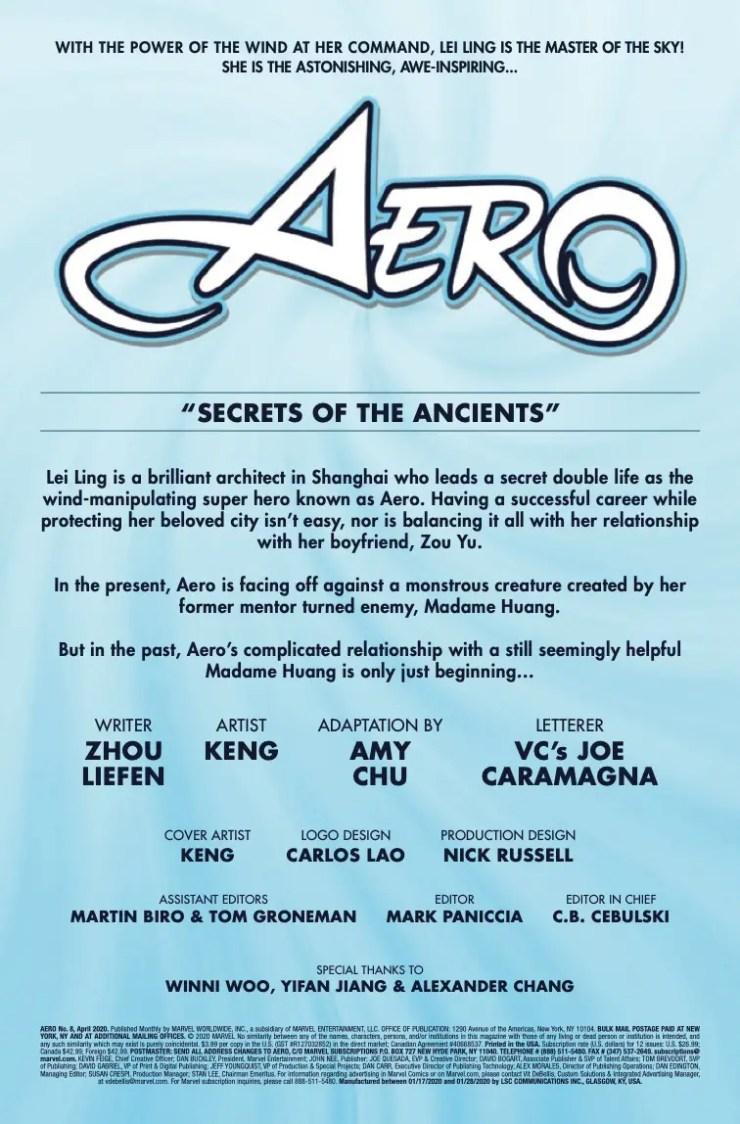 Marvel Preview: Aero #8