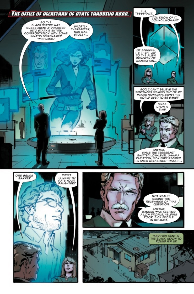 Marvel Preview: Marvel's Black Widow Prelude #2