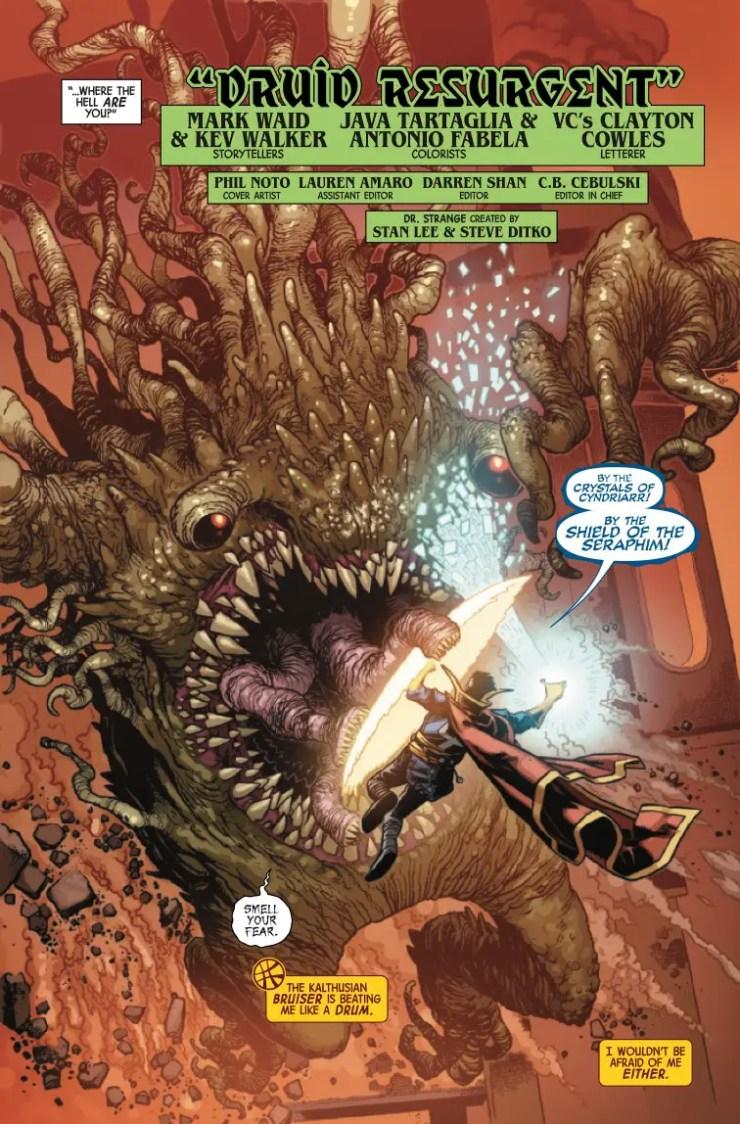 Marvel Preview: Dr. Strange #4