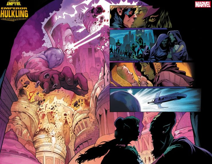 C2E2 Insider Look: Check out art shown at the Marvel Comics Empyre panel