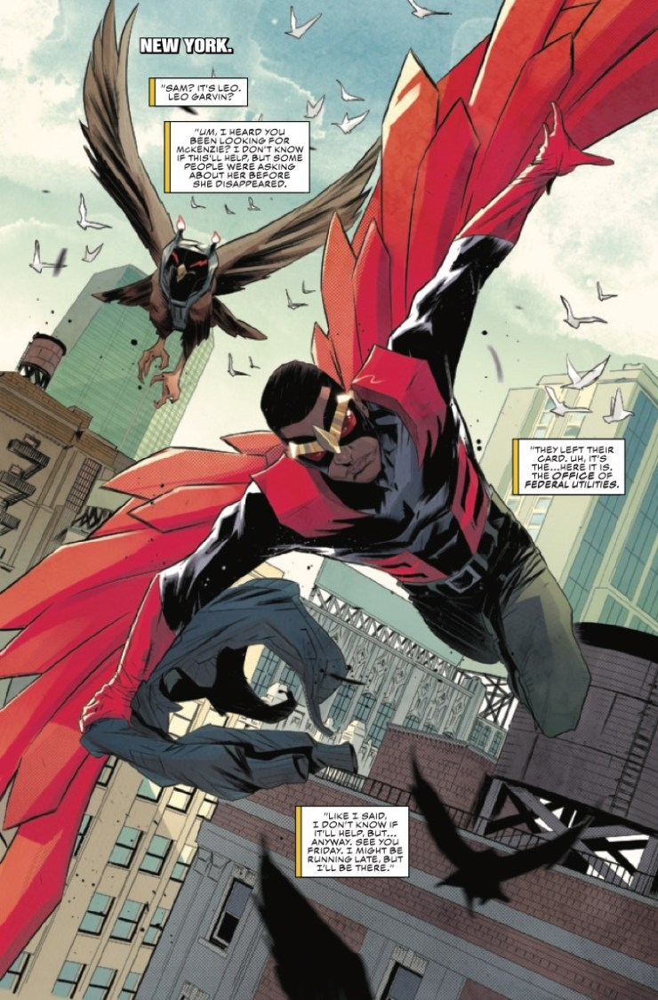 Marvel Preview: Falcon & Winter Soldier #1