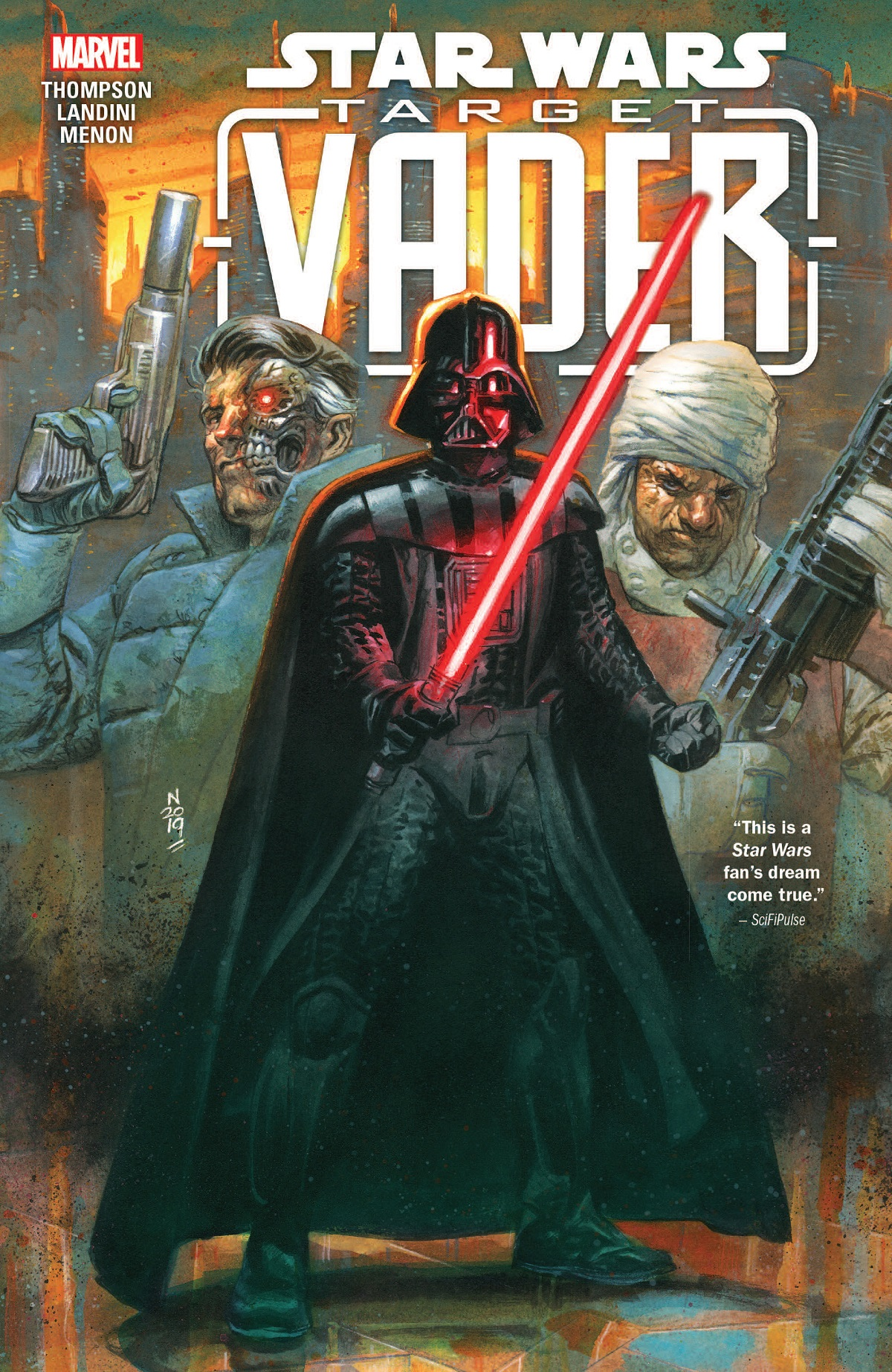 Star Wars: Target Vader Collection Review: A surprisingly human story about an obscure Star Wars cyborg