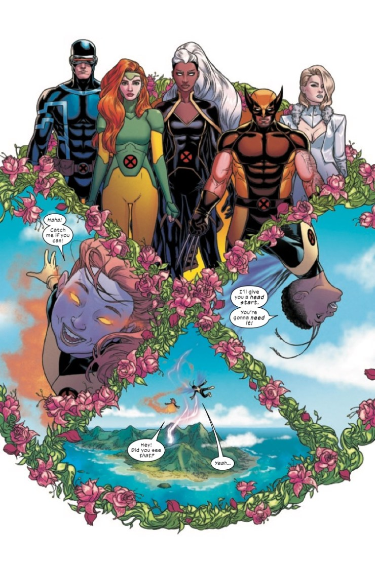Giant-Size X-Men by Jonathan Hickman