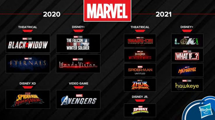 Ms. Marvel Series in 2021 and a Transformers: War For Cybertron Teaser