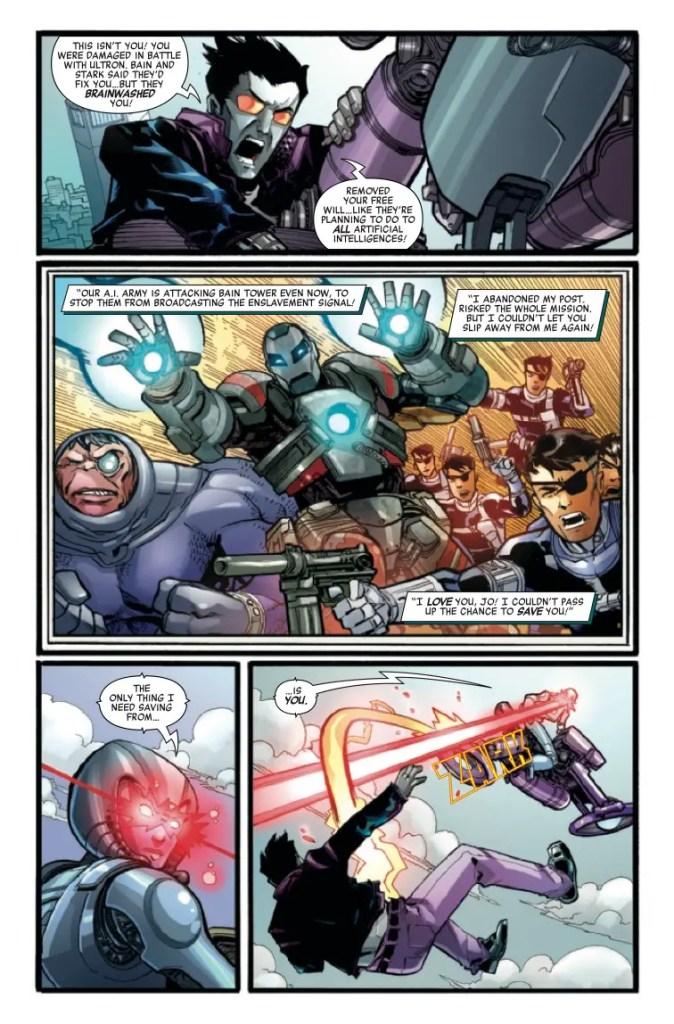 Marvel Preview: Machine Man 2020 #1