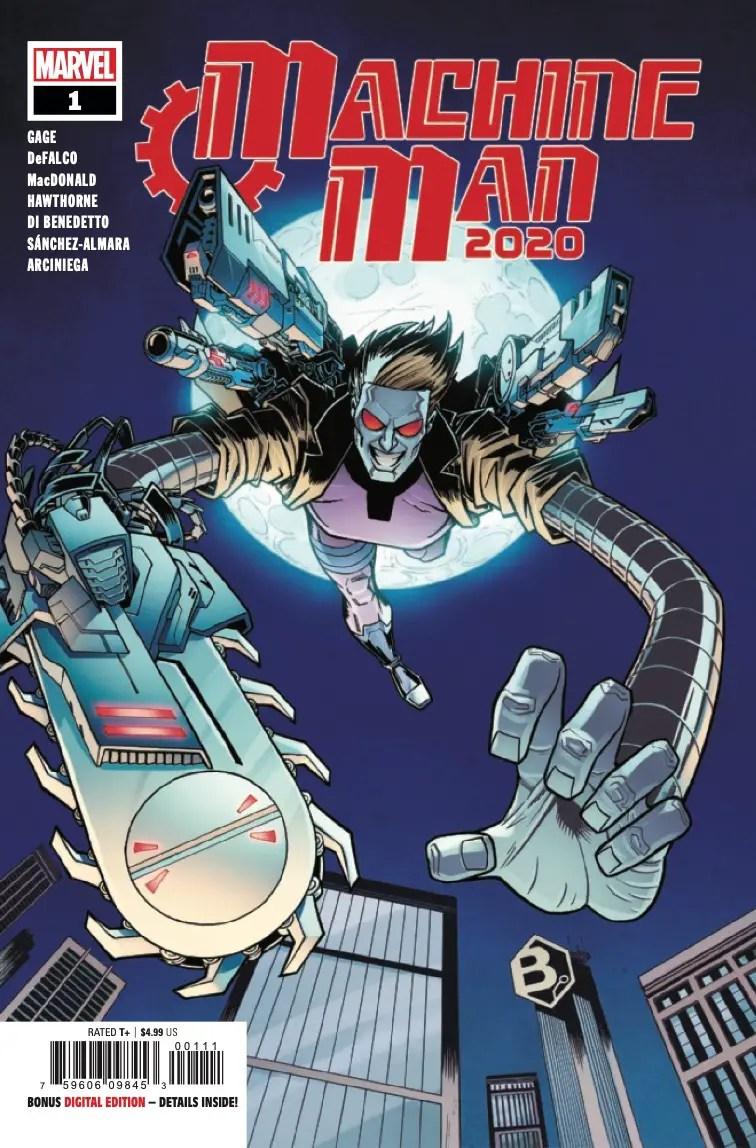 Machine Man 2020 #1 Review