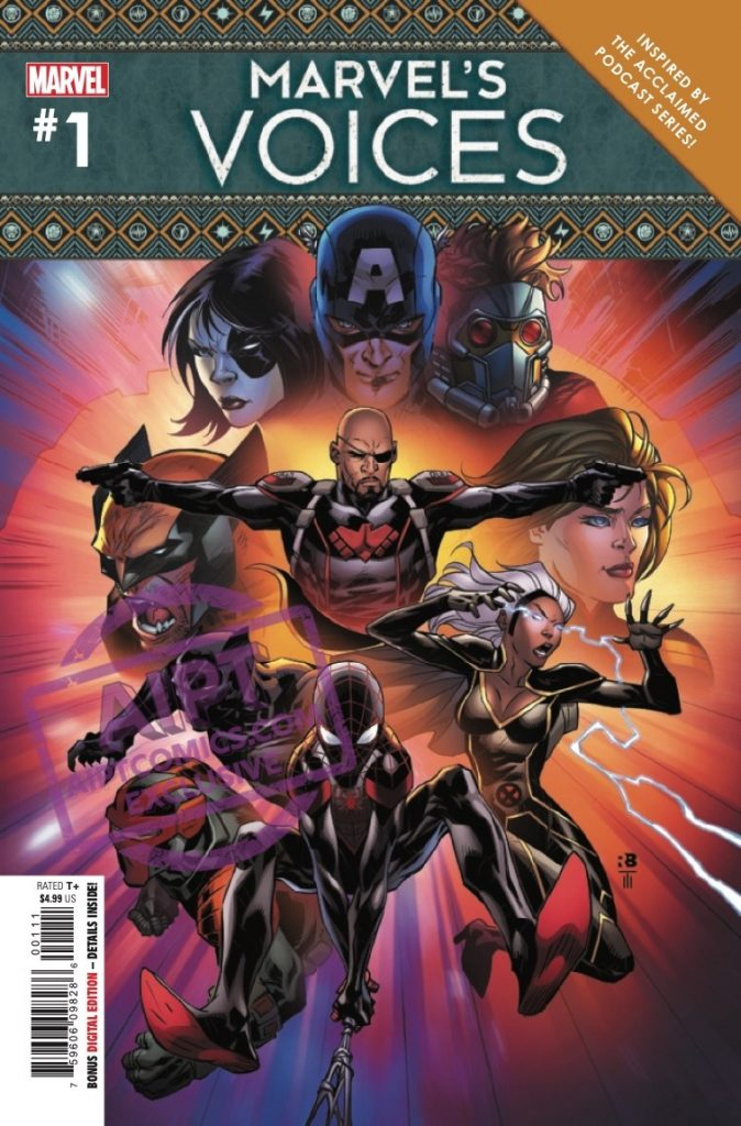 EXCLUSIVE Marvel Preview: Marvel's Voices #1