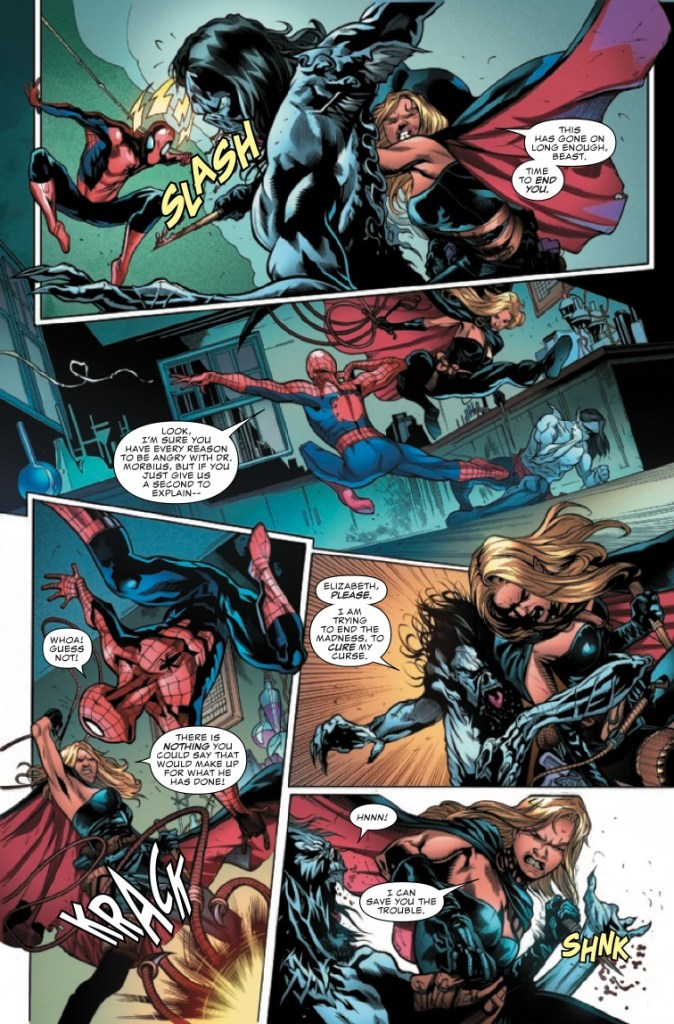 Marvel Preview: Morbius: The Living Vampire #4