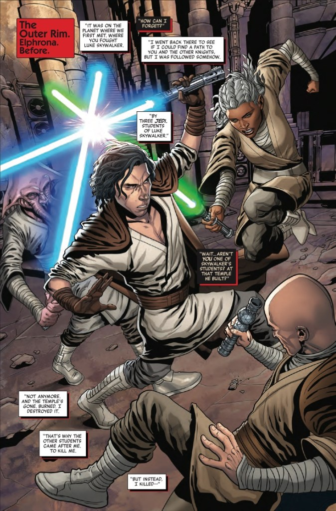 Marvel Preview: Star Wars: The Rise of Kylo Ren #3