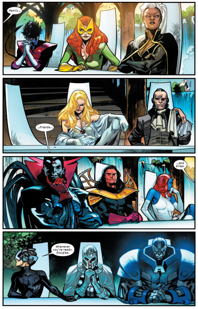 X-Men Foreign Policy #5 - Is the Krakoan Flower a resource curse?