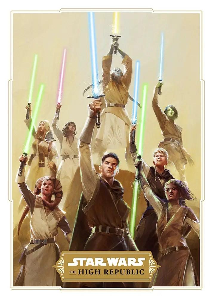 Lucasfilm unveils Star Wars: The High Republic publishing initiative