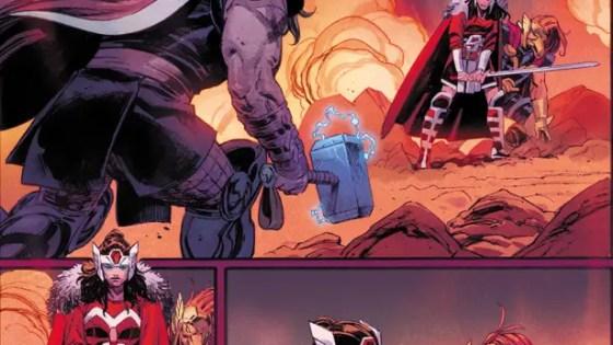 Marvel Comics Sneak Peek: Thor #4 preview plus Olivier Coipel's cover